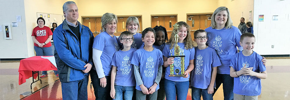 Regional Helen Ruffin Reading Bowl champions
