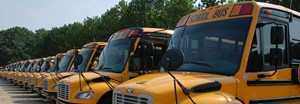 photo of cherokee county school busses