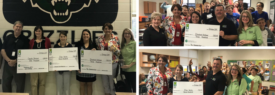 Congrats to our Bright Ideas Grant Winners