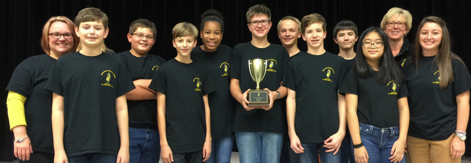 Congratulations Academic Bowl! 2nd place in county