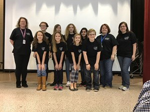 Photo of 2016-2017E.T. Booth's  Helen Ruffin Reading Bowl Team