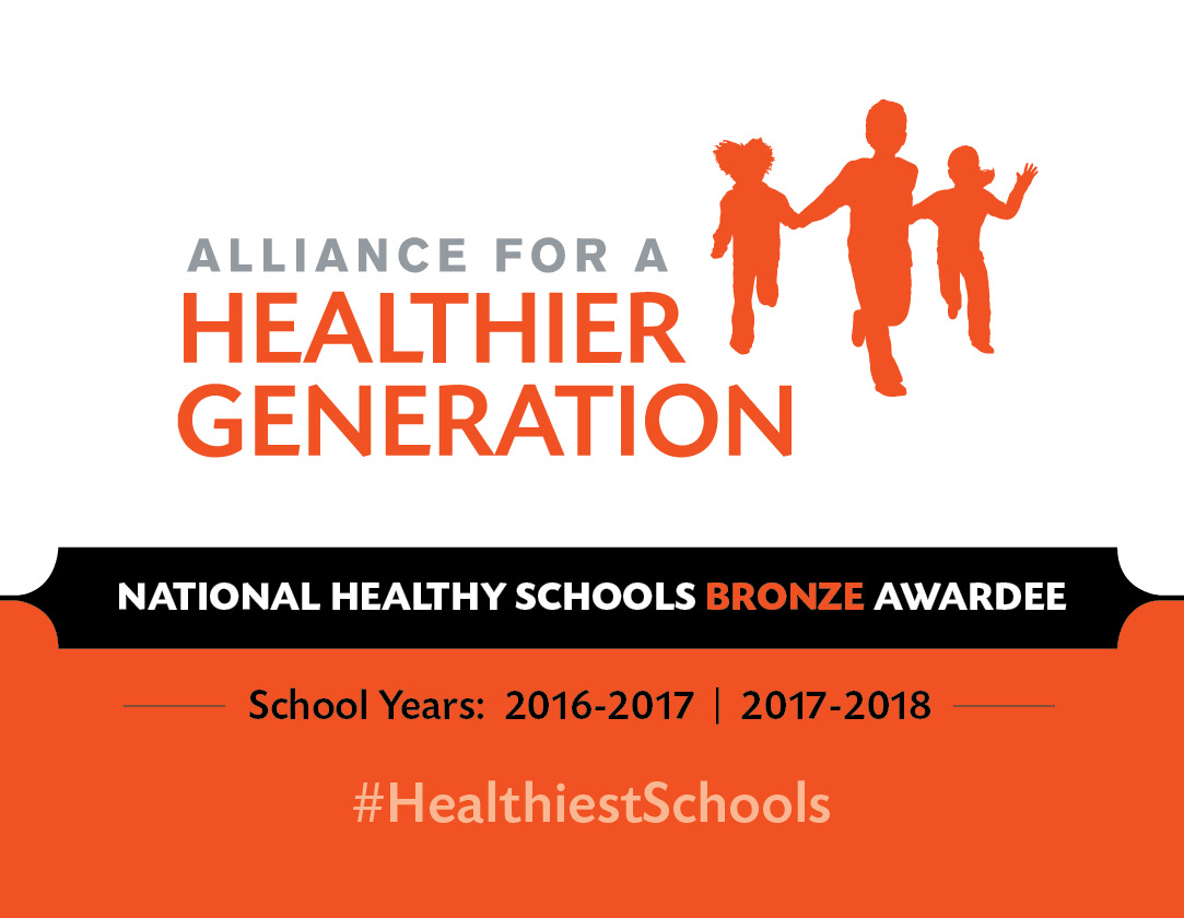 Bronze Award for Healthy Schools!