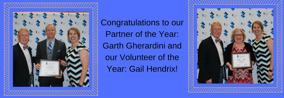 Partner and Volunteer of the Year!