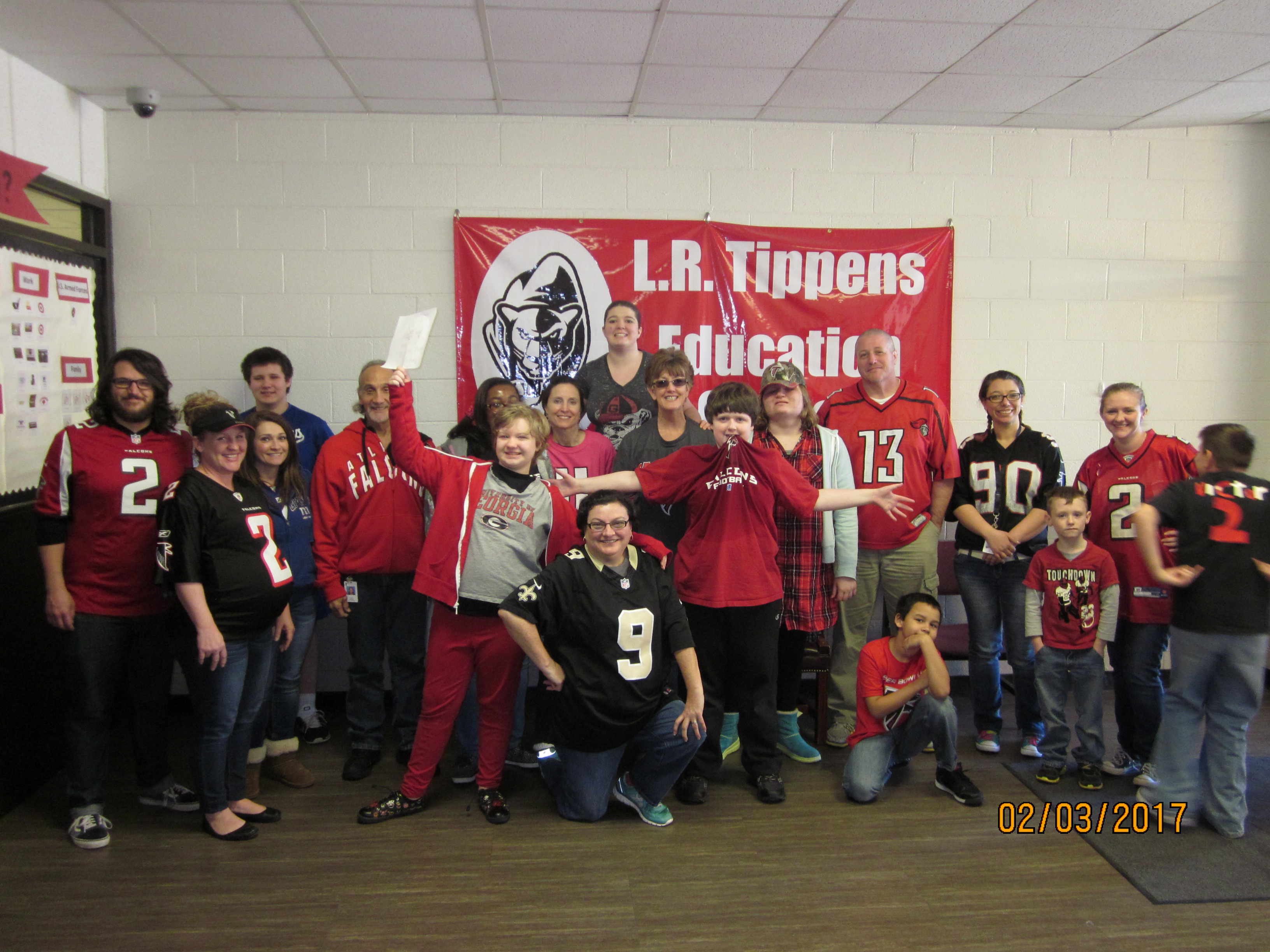 Wear Your Team Jersey Friday!